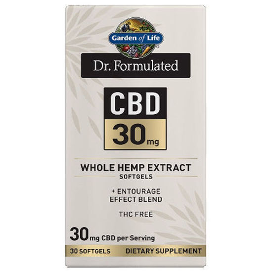 Picture of Dr. Formulated CBD Softgels (30mg) 30ct by Garden of Life