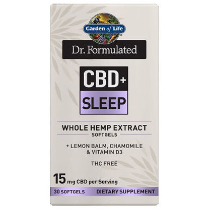 Picture of Dr. Formulated CBD+ Sleep Softgels (15mg) 30ct by GoL