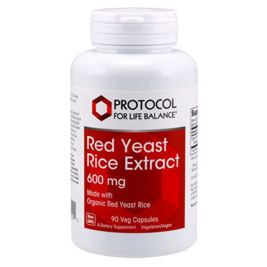 Picture of Red Yeast Rice Extract 90 caps by Protocol