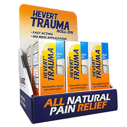 Picture of Trauma Roll-On Hevert Pharmaceuticals Counter Display Kit