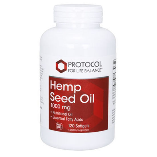 Picture of Hemp Seed Oil 120 softgels by Protocol