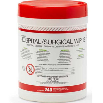 Picture of Disinfectant Germicidal & Bacteria Wipes Tub 240's