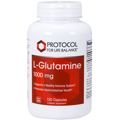 Picture of L Glutamine (1000mg) 120 caps by Protocol