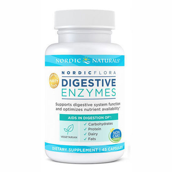 Picture of Nordic Flora Digestive Enzymes 45ct.