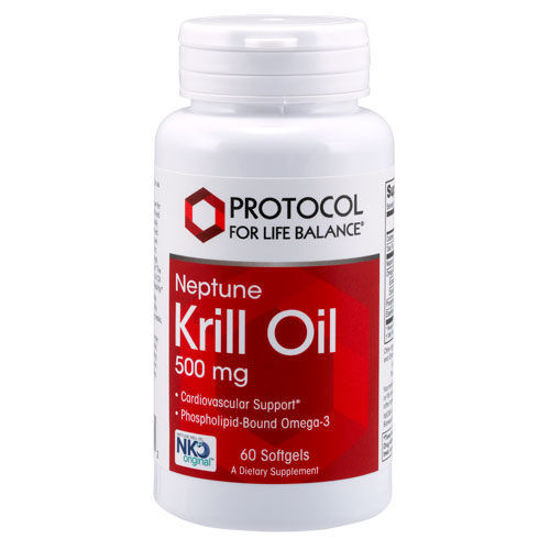 Picture of Neptune Krill Oil (500 mg) 60 softgels by Protocol