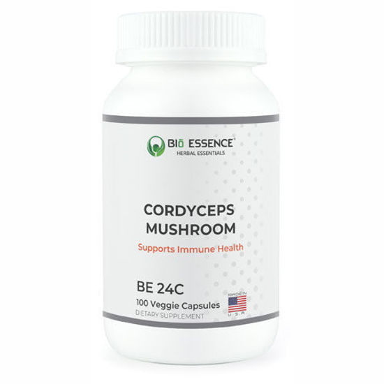 Picture of Cordyceps Mushroom 100 caps by Bio Essence
