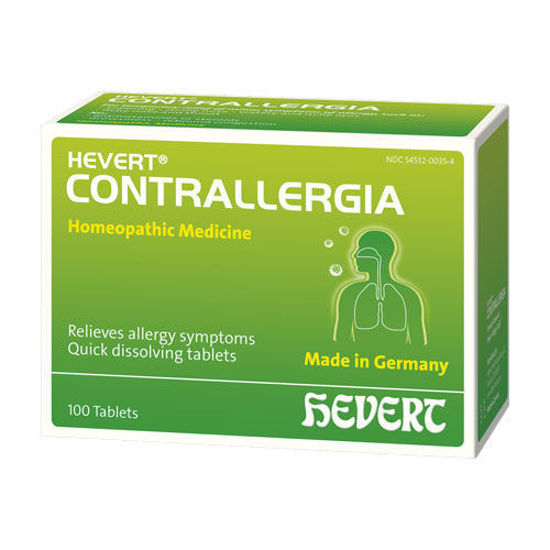 Picture of Contrallergia 100 tabs, Hevert Pharmaceuticals