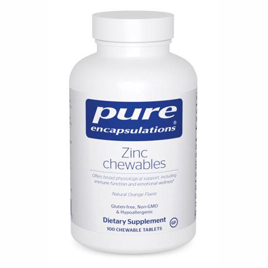 Picture of Zinc Chewables 100's, Pure Encapsulations