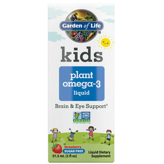 Picture of Kids Plant Omega-3 (Strawberry) 2 oz. Liquid by GoL