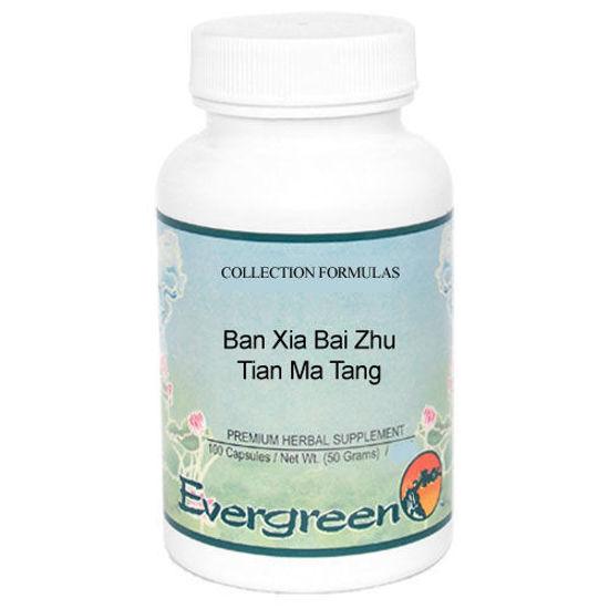 Picture of Ban Xia Bai Zhu Tian Ma Tang Evergreen Capsules 100's
