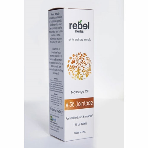 Rebel Herbs #36 Jointade Massage Oil by Rebel Herbs