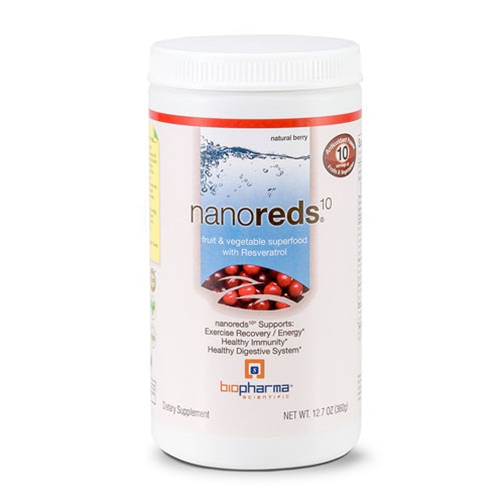 Biopharma Scientific NanoReds10 (Berry) 12.7oz. by Biopharma Scientific