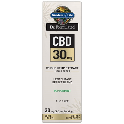 Hemp Extracts Dr. Formulated CBD Oil 30mg (Peppermint) 1 oz. Drops by GoL
