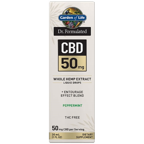 Hemp Extracts Dr. Formulated CBD Oil 50mg (Peppermint) 1 oz. Drops by GoL