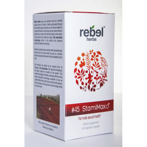 Rebel Herbs #45 StamiMax 60 caps by Rebel Herbs